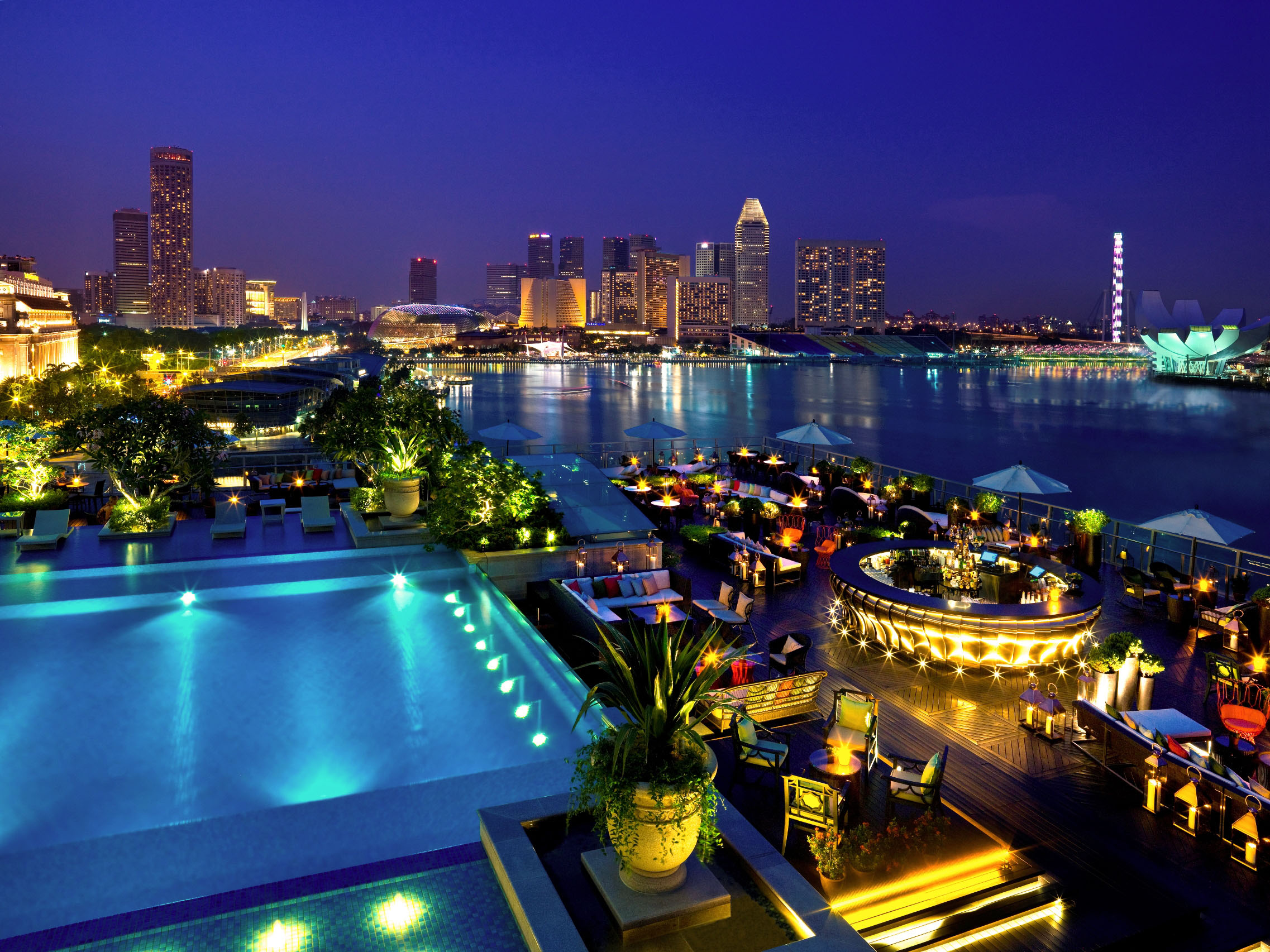 rooftop-Lantern-bar-lounge-event-Space-pool-party-Singapore