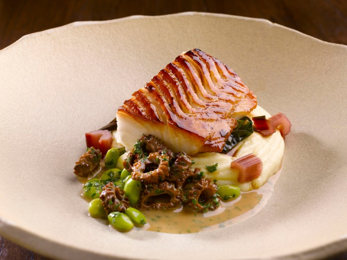 Roasted Cod and New Season Morels