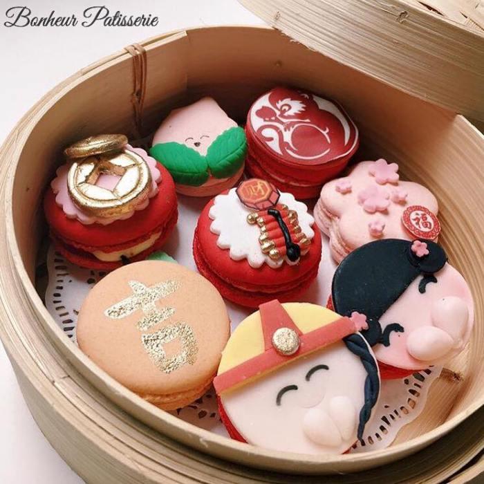 Dessert-Cafes-venuerific-blog-bonheur-patisserie-cute-macaroons