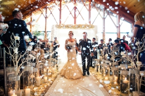 Wedding venue with both indoor and outdoor in venuerific snow winter wedding junglespirit Image collections