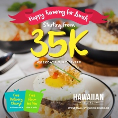 lunch bowl menu by hawaiian bistro